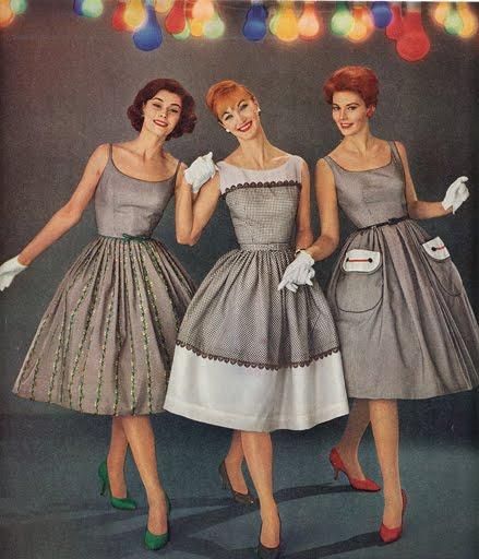 Kleider 50er Jahre