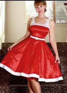 Petticoat Kleid von Rockabilly Clothing